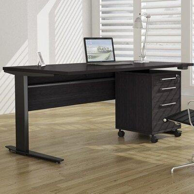 Tvilum Pierce Computer Desk Shell with Metal Legs