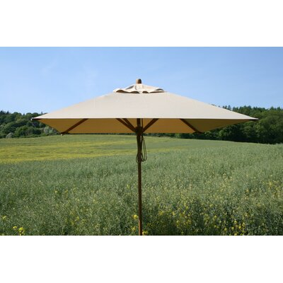 7'x10' Rectangular Bamboo Market Umbrella by Bambrella