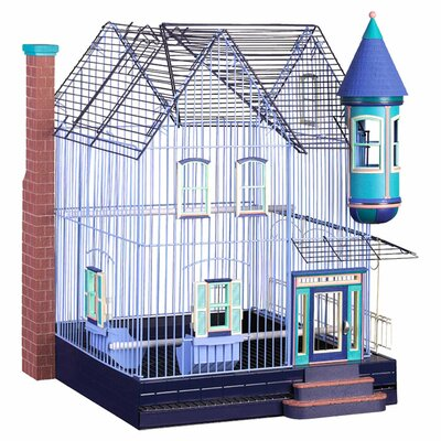 Featherstone Heights Victorian Keet/Tiel Home Bird Cage by Prevue Hendryx