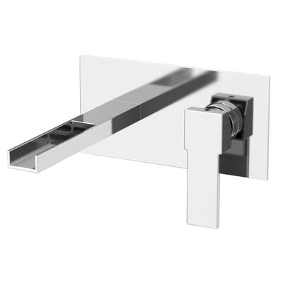 Single Handle Wall Mounted Bathroom Sink Faucet Product Photo