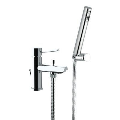 Single Handle Wall Mounted Tub Filler Trim with Hand Shower Product Photo