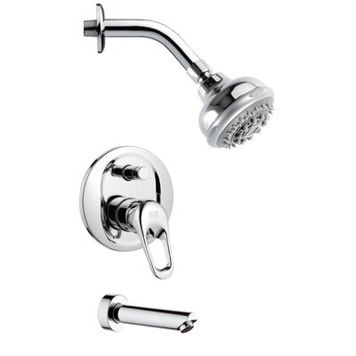 Peleo Pressure Balance Tub and Shower Faucet Product Photo