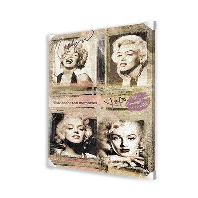 Ace Framing Marilyn Monroe Panels Memorabilia on Wrapped Canvas