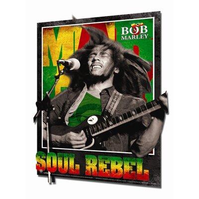 Ace Framing 3D Bob Marley Soul Rebel Framed Vintage Advertisement