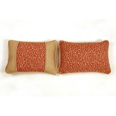 Mandarin Small Indoor/Outdoor Sunbrella Throw Pillow by South Sea Rattan