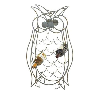 CBK Owl Twelve 12 Bottle Wine Rack