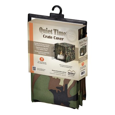 Midwest Homes For Pets Quiet Time Camo Crate Cover
