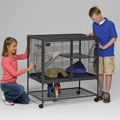 Critter Nation Small Animal Single Unit Cage by Midwest Homes For Pets