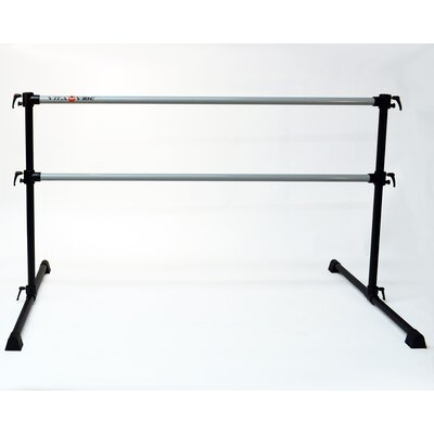 Professional Series Double Bar Ballet Barre by Vita Vibe