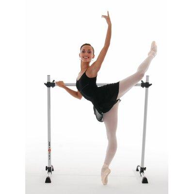Prodigy Series Modern Aluminum Single Bar Ballet Barre by Vita Vibe