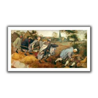 ArtWall 'Parable of the Blind' by Pieter Bruegel Canvas Poster