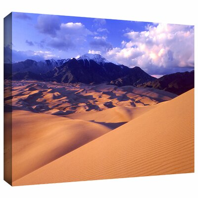 'Great Sand Dunes' by Dean Uhlinger Gallery-Wrapped Canvas Art by ArtWall
