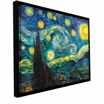 Starry Night Canvas Art by Vincent Van Gogh by ArtWall