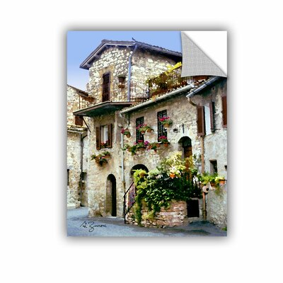 Assisi, Italy by George Zucconi Art Appeelz Removable Wall Mural by ArtWall