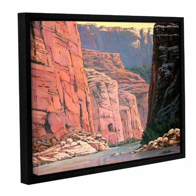 Colorado River Walls by Rick Kersten Gallery-Wrapped Floater-Framed Canvas by ArtWall