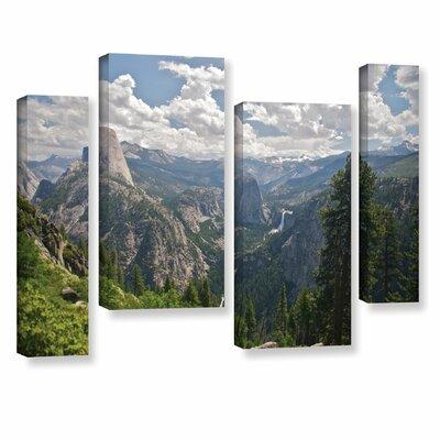 Yosemite-Half Dome, Vernal Falls and Nevada Falls by Dan Wilson 4 Piece Photographic Print ...