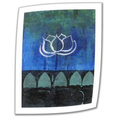ArtWall 'Lotus Blossom' by Elena Ray Photographic Print on Canvas Poster
