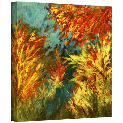 ArtWall 'Quiet Lake I' by Jan Weiss Graphic Art on Canvas
