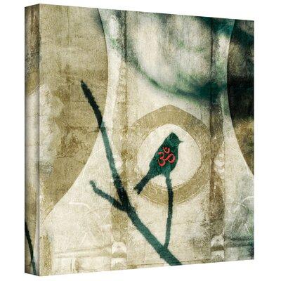 ArtWall 'Yoga Bird 2' by Elena Ray Painting Print on Canvas