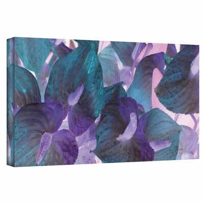 ArtWall 'Blue Dream' by Herb Dickinson Painting Print on Canvas