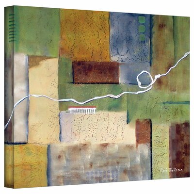 ArtWall 'Weaving' by Herb Dickinson Painting Print on Canvas