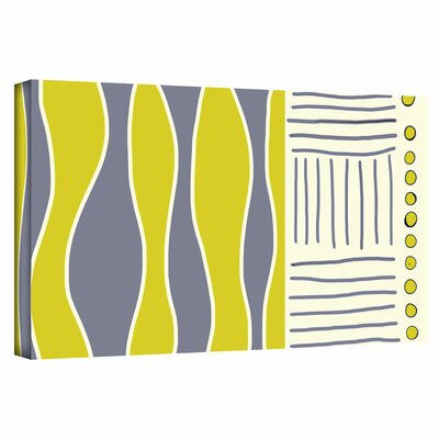 ArtWall 'Fabric Design I' by Jan Weiss Graphic Art Canvas
