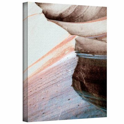 ArtWall 'Desert Sands Mountain' by Linda Parker Painting Print on Canvas