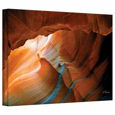"ArtWall ""Slot Canyon V"" by Linda Parker Photographic Print on Canvas"