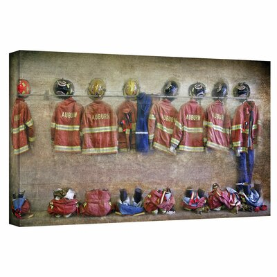ArtWall 'Auburn Fire Department' by David Liam Kyle Photographic Print on Canvas