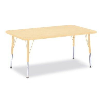 "Jonti-Craft Berries 48"" x 30"" Rectangular Classroom Table"