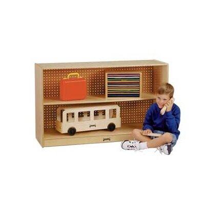 Jonti-Craft Low Straight-Shelf Mobile Unit