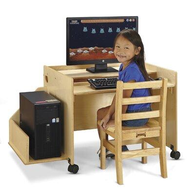 "Enterprise 24"" Single puter Desk by Jonti Craft"