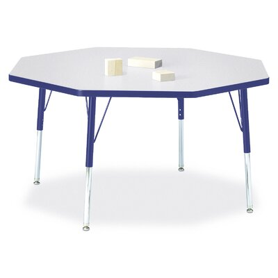 "Jonti-Craft Rainbow Accents 48"" Octagon Classroom Table"