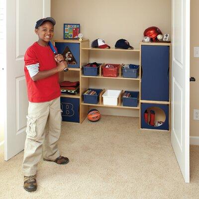 "RooMeez® 16"" Deep Closet Boy Organizer Set Product Photo"