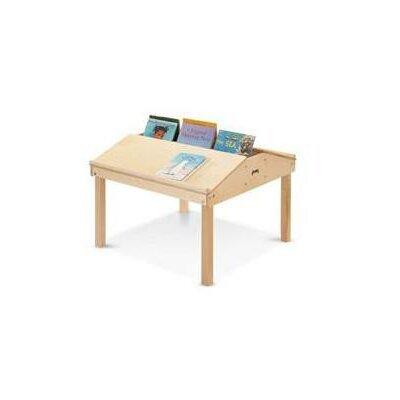 "Jonti-Craft Quad 33"" x 32.5"" Rectangular Classroom Table"