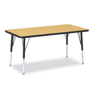 "Jonti-Craft KYDZ 48"" x 24"" Rectangular Classroom Table"