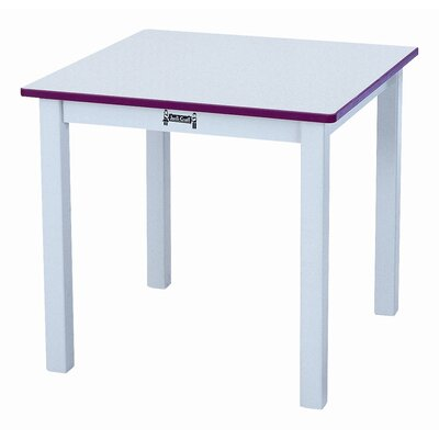 "Jonti-Craft Rainbow 24"" Square Classroom Table"