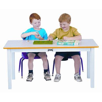 "Jonti-Craft 48"" x 24"" Rectangular Classroom Table"