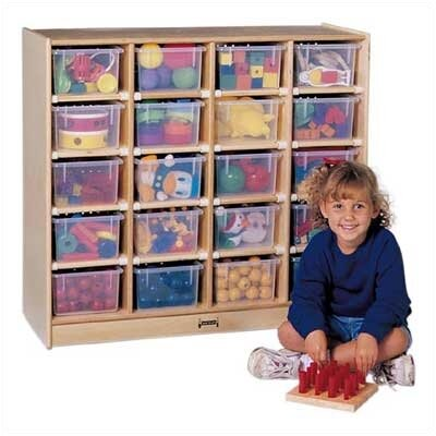 Jonti-Craft Mobile 20 Compartment Cubby Jonti Craft