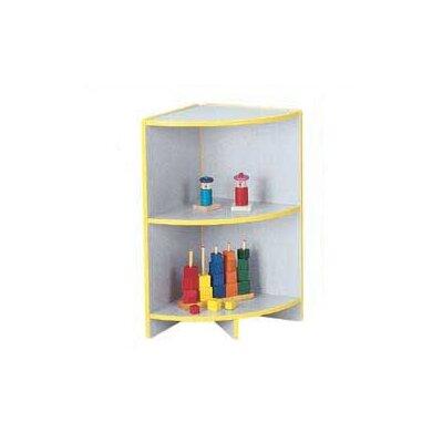 Jonti-Craft Rainbow Accents KYDZ Curves Corner Bookcase
