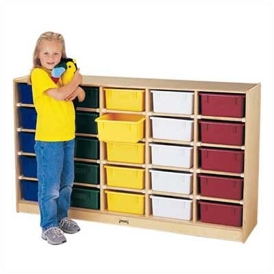 Jonti-Craft ThriftyKYDZ Tub Single 25 Compartment Cubby