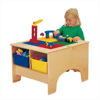 Jonti-Craft KYDZ Building Table - Duplo Compatible