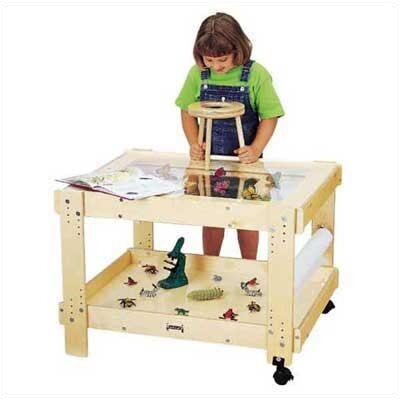 Jonti-Craft Creative Caddie Discovery Table with Bins
