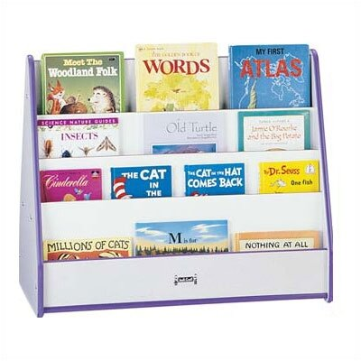 Jonti-Craft Rainbow Accents 2 Sided Mobile Pick-a-Book Stand