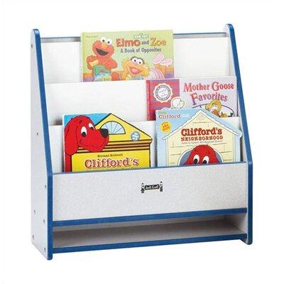 Jonti-Craft Rainbow Accents Rectangular Toddler Book Stand
