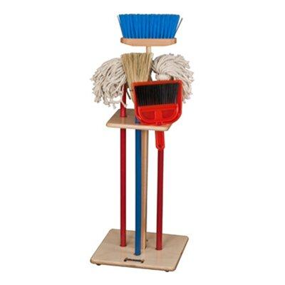Jonti-Craft Housecleaning Set-n-Rack