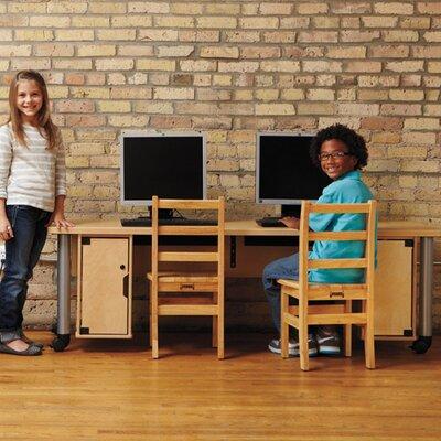 "Jonti-Craft TrueModern 72"" x 24"" Rectangular Classroom Table"