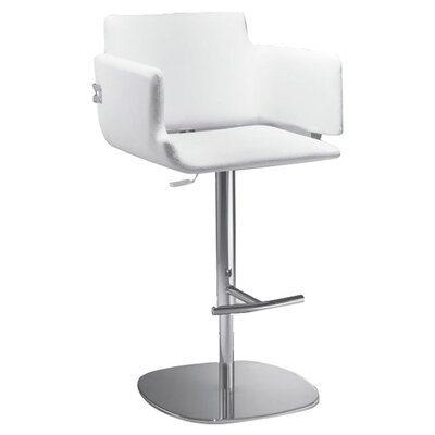 AirNova Arka Adjustable Height Bar Stool with Cushion