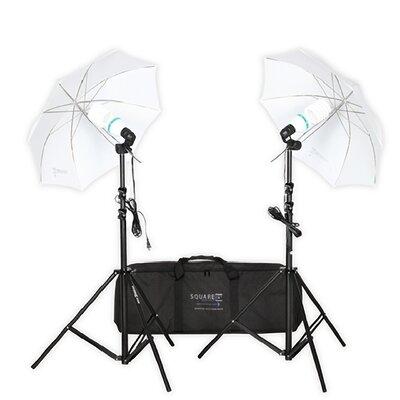 Premium Photo Studio Lighting Umbrella Stand Full Spectrum Lights by Square Perfect