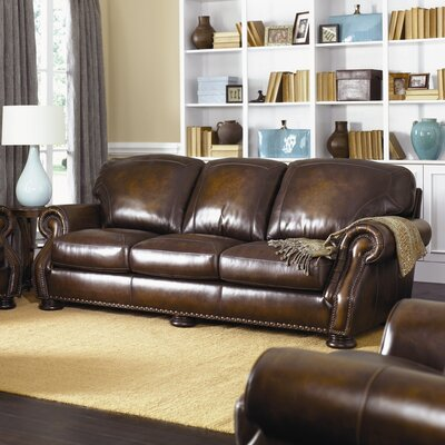 Carlton Leather Sofa by Simon Li